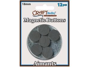 Magnetic Buttons-18mm 12/Pkg