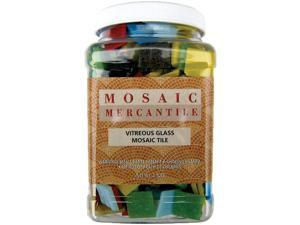 Vitreous Glass Mosaic Tiles 2.5lb-Assorted
