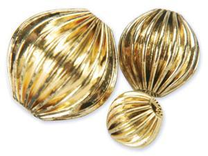 Blue Moon Value Pack Metal Beads-Antique Gold Rounds 30/Pkg