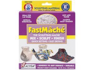 FastMache Sculpting Mache 2 Pounds-Bright White
