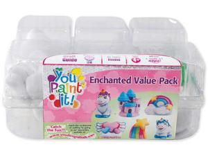 You Paint It Plaster Kit Value Pack-Enchanted
