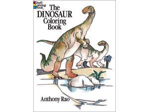 Dover Publications-The Dinosaur Coloring Book