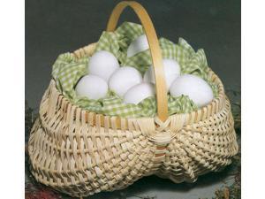 """Blue Ridge Basket Kits-Egg Basket 7""""X7"""" w/Handle"""