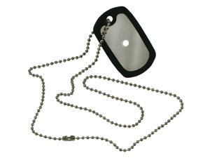 Paracord Survival Accessory Dog Tags W/Chain-