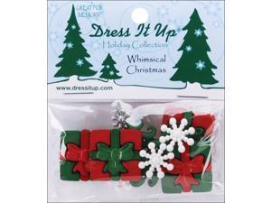 Dress It Up Holiday Embellishments-Whimsical Christmas
