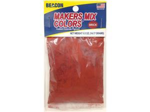 Makers-Mix Stepping Stone Colorant .5Oz-Brick