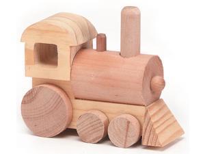 "Wood Toy Kit 4-1/2""X1-3/4"" 1/Pkg-Train"
