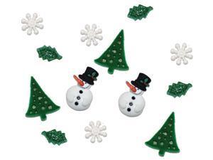 Dress It Up Holiday Embellishments-Christmas Past