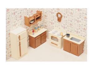 Greenleaf 7205 Kitchen Dollhouse Furniture Kit