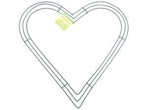 "Heart Wire Wreath-16"""