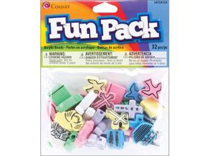 Fun Pack Christian Beads ?mm ?/Pkg-? Color