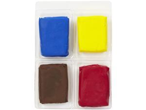 Martha Stewart Basic Color Clay Set 4 Colors 2 Ounces Total-