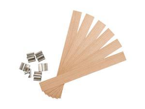 """Earth Wick Keeper 6/Pkg-Wood Extra Large 5/8"""""""