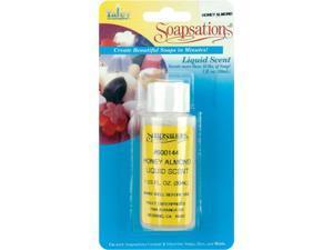 Soapsations Liquid Scent 1 Ounce Bottle-Honey Almond