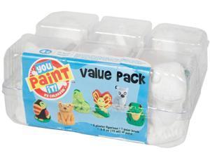 You Paint It Plaster Kit Value Pack-Rainforest