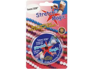 Stretch Magic Bead & Jewelry Cord 1mm 5 Meters/Pkg-Pearl
