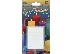 Concentrated Candle Dye 3/4 Ounce Blocks-White
