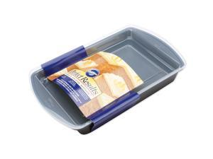 "Perfect Results 13""X9"" Oblong Cake Pan W/Cover-"