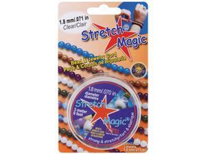 Stretch Magic Bead & Jewelry Cord 1.8mm 3 Meters/Pkg-Clear