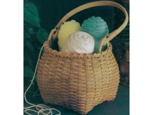 "Blue Ridge Basket Kits-Shaker Cat Head 10""X7-1/2"" w/Handle"