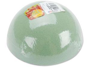 "Dry Foam Half Ball-6""X3"""