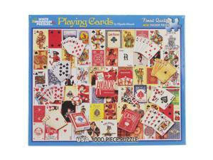 "Jigsaw Puzzle 1000 Pieces 24""X30""-Playing Cards"