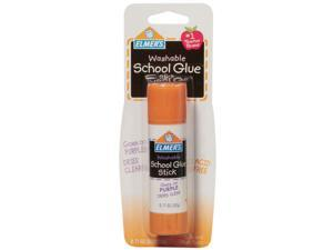 Elmers Washable School Glue Stick - Purple-.77 Ounce