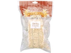 """Mini Straw Bale 5""""X2.5""""X2.5""""-Natural"""