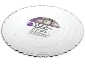 "Wilton 18"" Decorator Preferred Scallop Separator Plate"