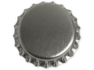 "Bottle Cap Inc Vintage Standard Bottle Caps 1"" 12/Pkg-Chrome"