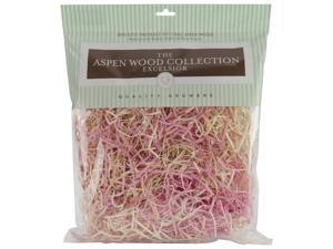 Aspenwood Excelsior 328 Cubic Inches-Pink/Natural