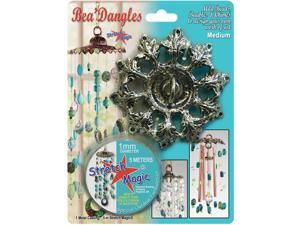 Bea'dangles Mobile W/Metal Cast & Stretch Magic - Medium-Silver