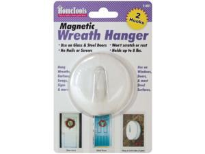 "Magnetic Wreath Hanger 2.5""-White"