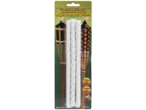 "Outdoor Torch Replacement Wicks 8.75"" 3/Pkg-"