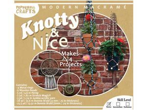 Modern Macrame Knotty & Nice Boxed Kit-