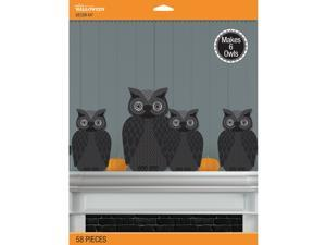 Jolee's Halloween Decor Kit 58/Pcs-3D Spooky Owl