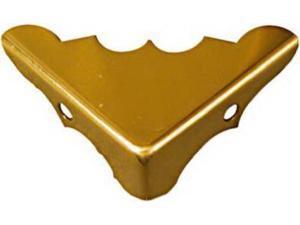 """Brainerd 9/16"""" X 1-1/4"""" Solid Brass Corner 4Pk 480Xc Brainerd 480XC 022788004803"""