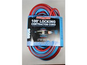 Channel Lock 100' Locking Extra Heavy Duty Contractor Extension Cord