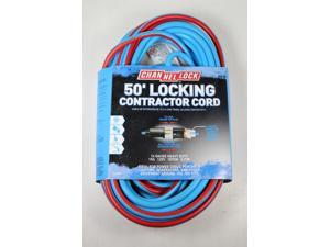Channel Lock 50' Locking Heavy Duty Contractor Extension Cord