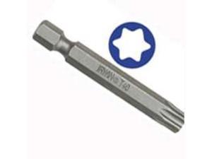 Irwin 93370 6-Inch Hex Shank T25 Torx Power Bit   5-Pack