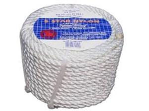 """Twisted General Purpose Rope, 1/2"""" D X 50' L TW EVANS CORDAGE CO Rope - Packaged"""