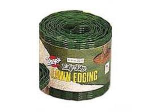 4In Plastic Grass Stop WARP BROTHERS Lawn Edging / Border LE420G 042351454606
