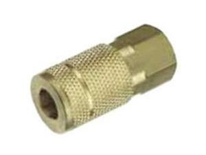 """Plews/Lubrimatic 13-135 1/4"""" Body Series T-Style Coupler-1/4""""T-F FEMALE COUPLER"""