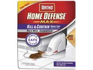 Scotts Ortho 474635 Home Defense Kill and Contain Mouse Trap 2 Pack Pack Of 8