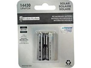Batt Solar Solar Lt 3.2 V BOSTON HARBOR Outdoor Solar Lighting BTLP14430400-D2