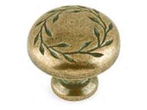Amerock BP1581-R2 1.25 in. Knob - Weathered Brass