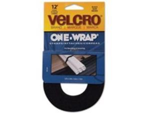 VELCRO USA Inc VEK90340 Get A Grip Velcro- .75in.x12ft.- Black