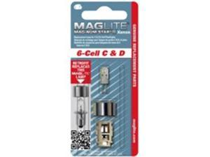 MagLite 6 Cell Mag-Num Star Xenon C or D Replacement Lamps 1/Pk.