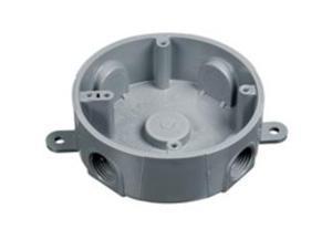 Round T-Box 5 1/2In Holes 00 Metal Conduit - Emt E365DR 034481065715