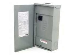 Siemens Energy LW204TL 200-Amp Outdoor Mobile Home Panel with Feed Thru Lugs Cod